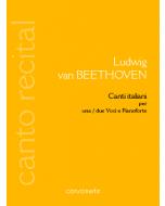 Ludwig van BEETHOVEN – Canti italiani Cover Small
