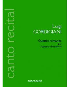 Luigi Gordigiani – Quattro romanze